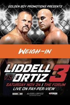 Chuck Liddell vs Tito Ortiz 3: Weigh-In