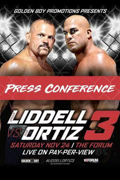 Chuck Liddell vs Tito Ortiz 3: Press Conference