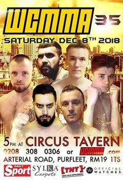 WCMMA 35 - Tim Smith vs Ionita Alexandru