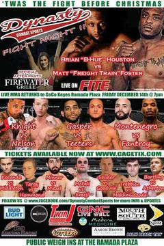Dynasty Combat Sports 48 - Matt Foster vs Brian Houston