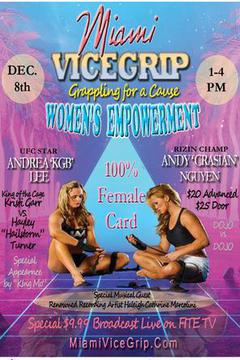 Miami Vicegrip: Grappling for a Cause