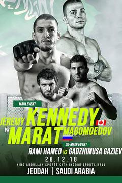Brave 21: Saudi Arabia - Jeremy Kennedy vs Marat Magomedov