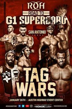 ROH Road to G1 Supercard - San Antonio, TX