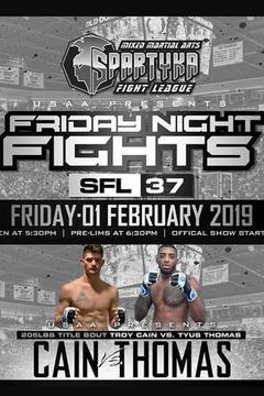 Spartyka Fight League - SFL 37 - Huggins vs Shermer