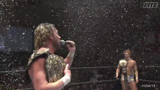 NJPW Kenny Omega sings a christmas song