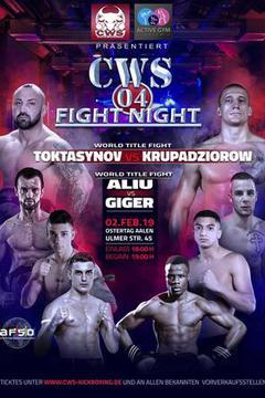 CWS Fight Night 04 Aalen