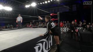 Zack Sabre Jr Entrance At ROH Ep. #382