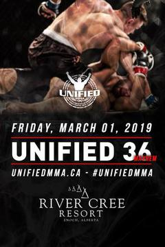 Unified MMA 36 - Pat Pytlik vs Jake Lindsey