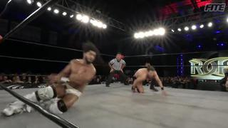 ROH #383 - Intense and evenly matched action from Rush vs TK O'Ryan