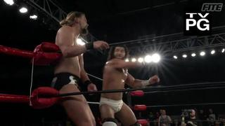 ROH #383 - Rush gets the better of TK O'Ryan in a chop exchange