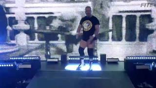 ROH #383 - Silas Young makes his way to the ring vs Beer City Bruiser