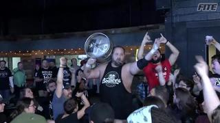 ROH #383 - Straight from the bar Beer City Bruiser makes his entrance