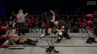 ROH #383 - Brian Milonas attacks Silas Young and helps his friend Beer City Bruiser