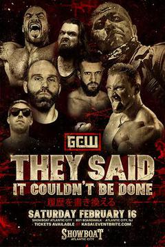 GCW: They said It Couldn't Be Done