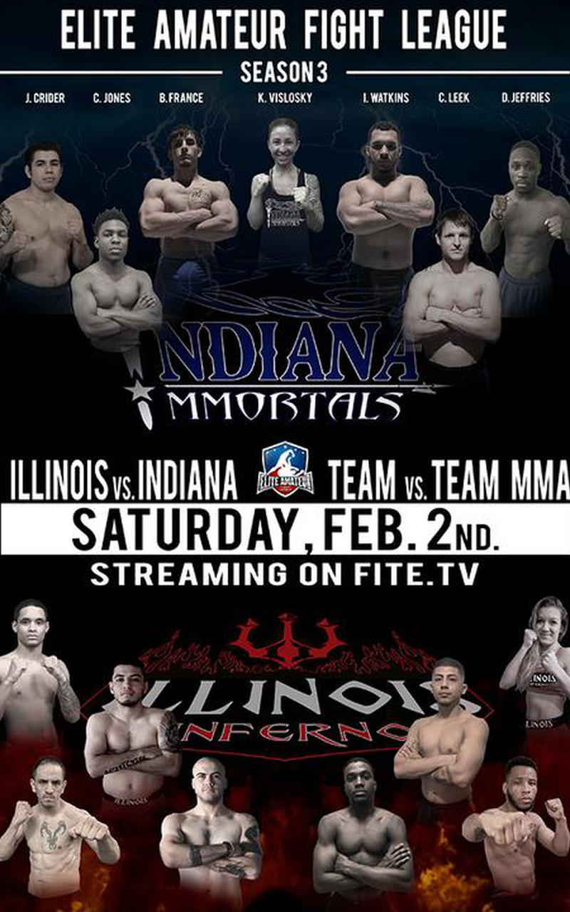 National amateur fight league