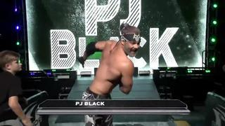 ROH #384 - PJ Black makes his entrance