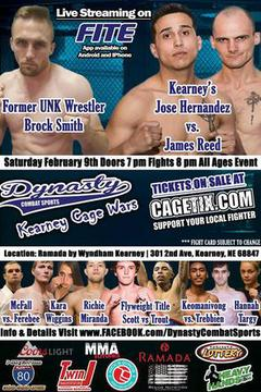 Dynasty Combat Sports 50: Kearney Cage War