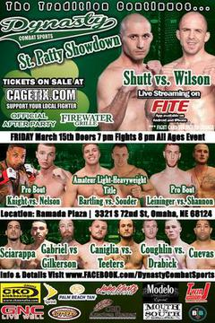 Dynasty Combat Sports: St. Patty Showdown