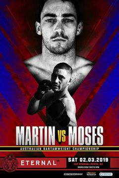 Eternal MMA 41 - Mitch Martin vs Kairin Moses