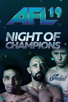 AFL MMA 19 - Daniel Requeijo vs Nicolas Joannes