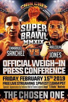 Chin Chek Promotions: Super Brawl MMXIX Weigh In