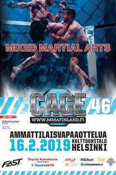 Cage 46 Helsinki - Edward Walls vs Denis Silva