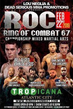 Ring of Combat 67 - Bill Algeo vs John de Jesus