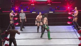 ROH #387 - Luchasaurus goes to town on Chris Sabin