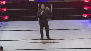 ROH #387 - Jay Lethal delivers an emotional speech about ROH