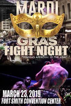 MMAXFC: Mardi Gras Fight Night