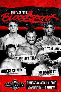 GCW Josh Barnett's Bloodsport