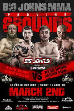Big John's MMA: Proving Grounds! (Tape Delay)