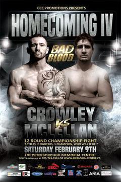 Homecoming IV: Crowley vs McLellan