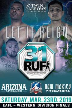 Elite Amateur Fight League Arizona vs New Mexico (Hosted by RUF MMA)