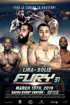 Fury Fighting Championships 31 - Christian Lira vs Shawn Solis