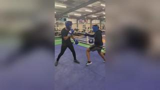 Sparring March 8, 2019