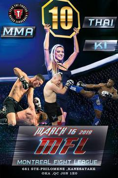 Montreal Fight League 10