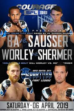 SFL 38: Will Worley vs Rob Shermer