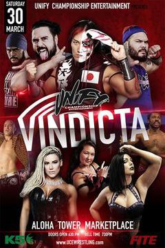 "UCE Wrestling: Pilot Series #4 ""Vindicta"" (Tape Delay)"
