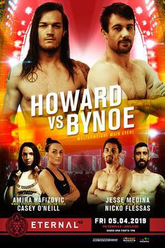 Eternal MMA 43: Anthony Bynoe vs Luke Howard