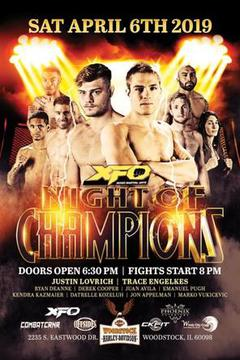 XFO Night of Champions  (TAPE DELAY)