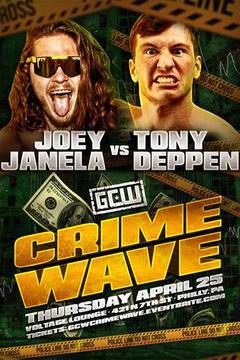 "GCW ""Crime Wave"" Philadelphia"