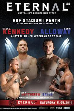 Eternal MMA 44 - Steve Kennedy vs Benny Alloway