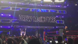 Drew McIntyre Entrance on Raw April 22, 2019