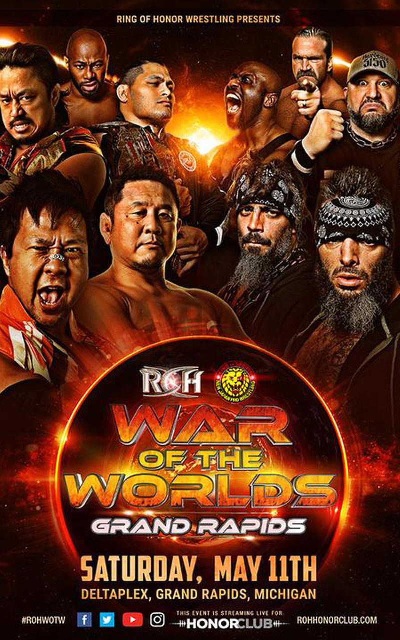 ROH War of the Worlds Grand Rapids, MI
