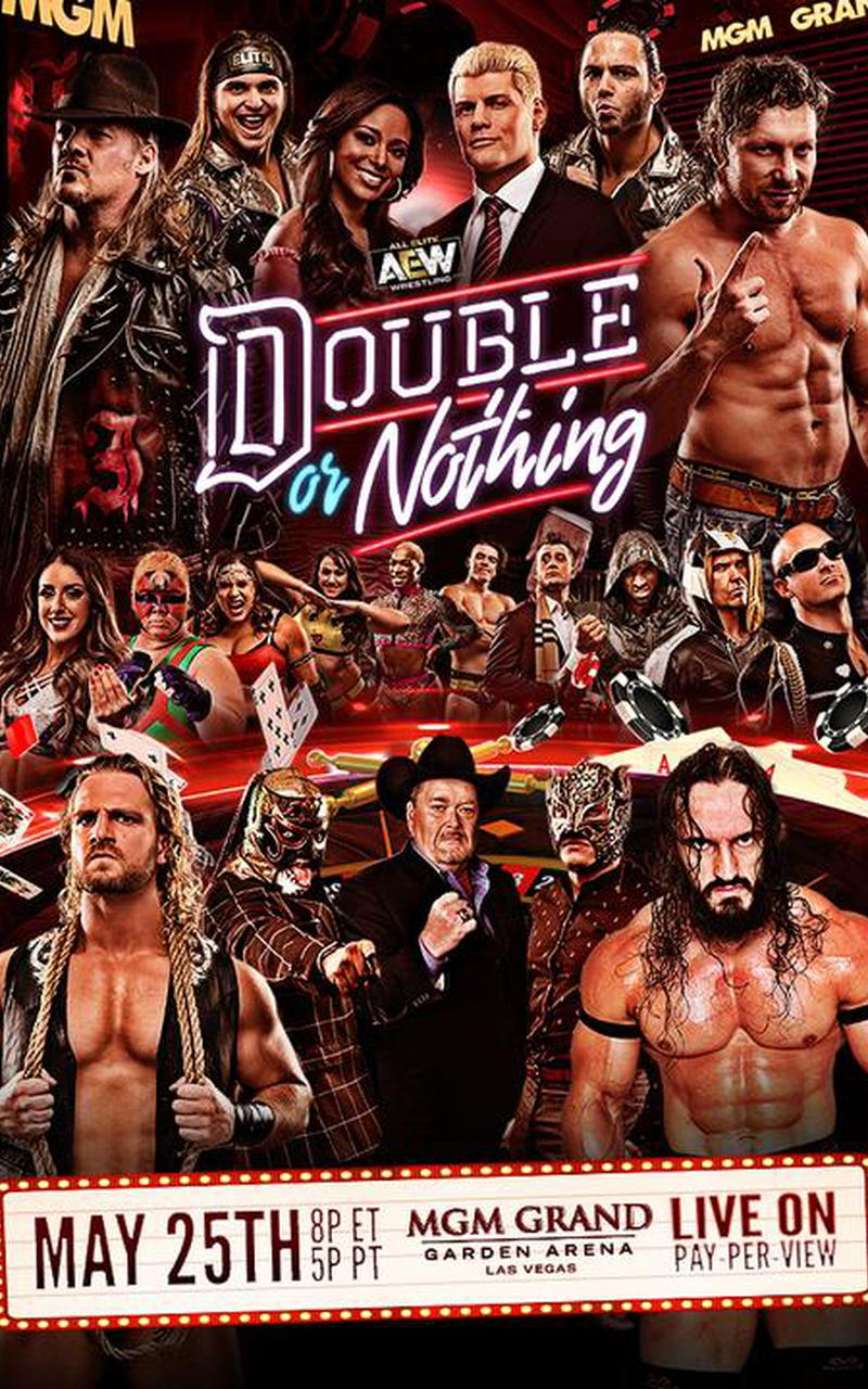 Aew Double Or Nothing 2019 Official Ppv Replay Fite
