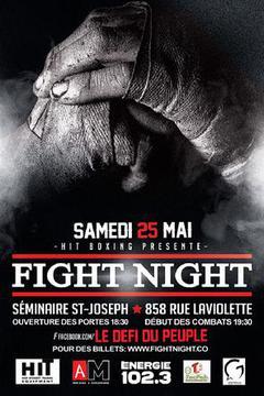 Les événement: Fight Night 2019