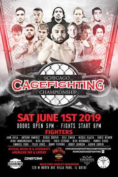 Chicago Cagefighting Championship: June 2019