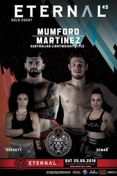 #3: Eternal MMA 45: Brentin Mumford vs David Martinez