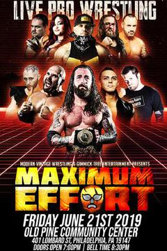 Live Pro Wrestling: Maximum Effort